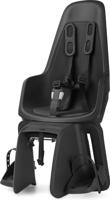 Product: Bobike One Maxi Fietsstoeltje Achter BD - Urban Black, van het merk Bobike