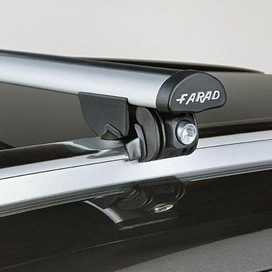Faradbox Dakdragers Mitsubishi ASX 2010> gesloten dakrail, 100kg laadvermogen