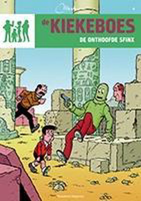 De Kiekeboes 4 - De onthoofde sfinx - Merho pdf epub