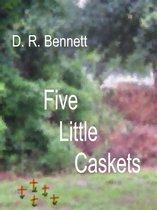 Omslag Five Little Caskets