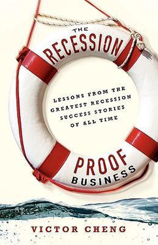 Boek cover The Recession-Proof Business van Victor Cheng (Paperback)