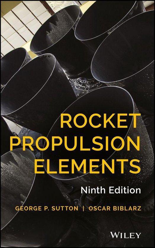 Boek cover Rocket Propulsion Elements van George P. Sutton (Onbekend)