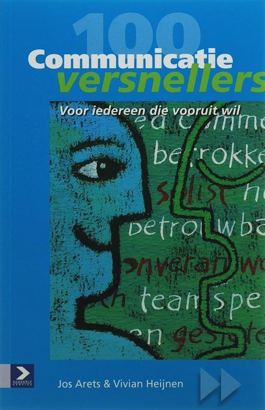 Cover van het boek '100 Communicatieversnellers' van V. Heijnen en J. Arets