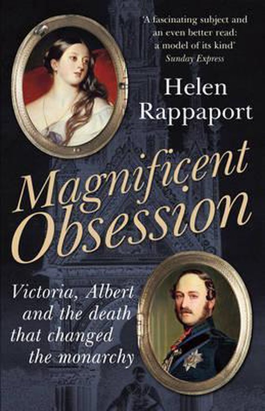 Boek cover Magnificent Obsession van Helen Rappaport (Paperback)