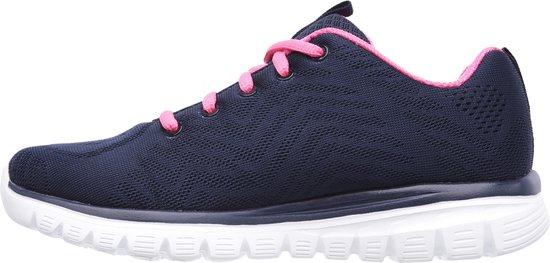 Skechers You Spirit Dames Sneakers - Navy/Hot Pink - Maat 36 uID5m6fP