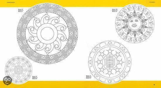 Cover van het boek '1.000.000 mandala's om te ontwerpen, te printen en in te kleuren' van Madonna Gauding