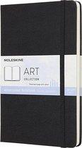 Moleskine Art Waterverf Album Large - Hard cover - Blanco - Zwart