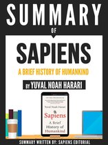 Omslag Summary Of ''Sapiens: A Brief History Of Humankind - By Yuval Noah Harari''