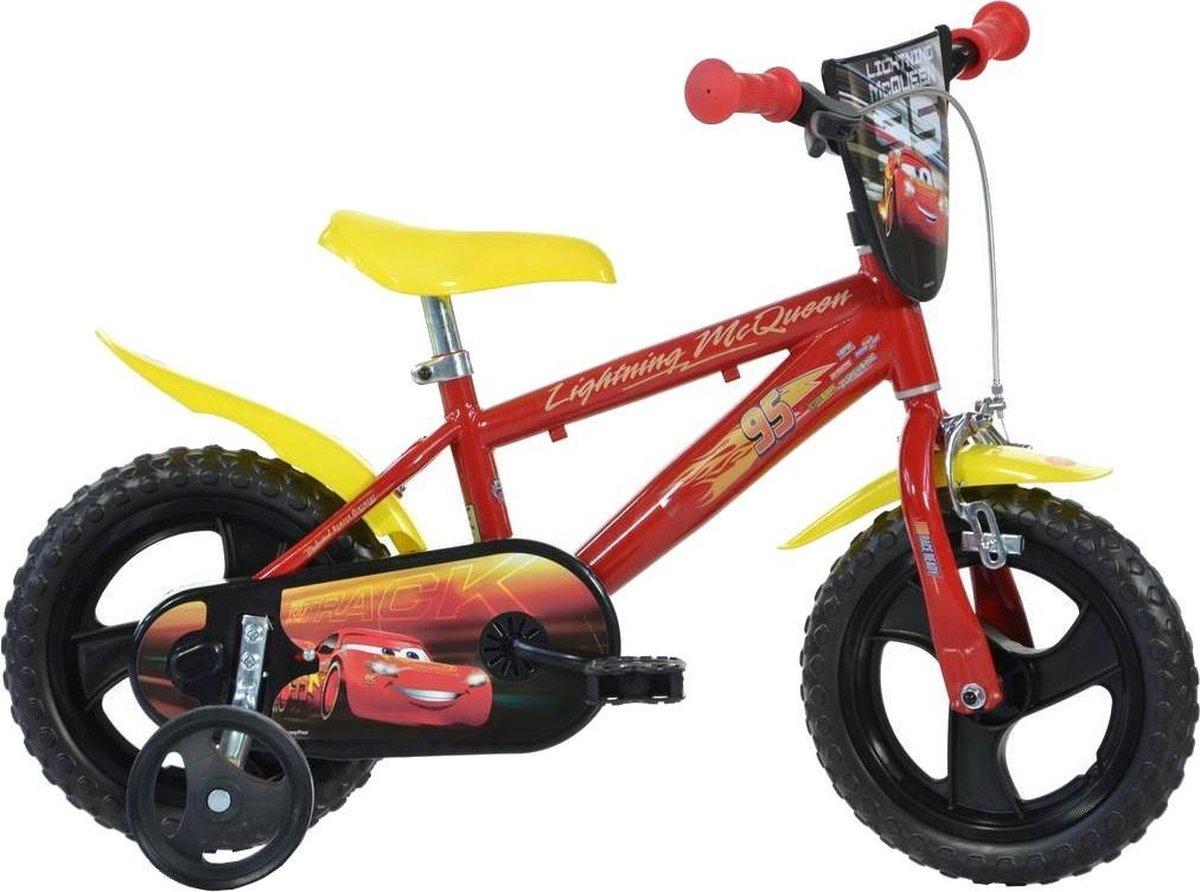 Dino Bikes Cars 3 Kinderfiets Jongens -12 inch Rood online kopen