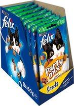 FELIX Party Mix Snacks Kattensnack - Original - 8 x 60 g