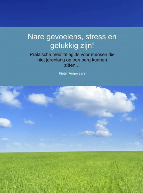 Nare gevoelens, stress en gelukkig zijn! - Pieter Angevaare |