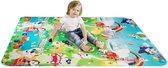 Grote XL Speelmat Vloerkleed - Groot Kindervoerkleed - Dieren Kleed - Binnen & Buiten