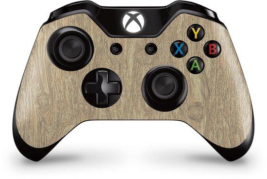 Xbox One Controller Skin Licht Hout Sticker