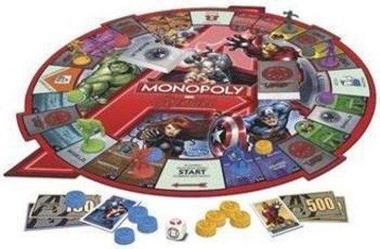 Monopoly The Avengers Editie - Bordspel