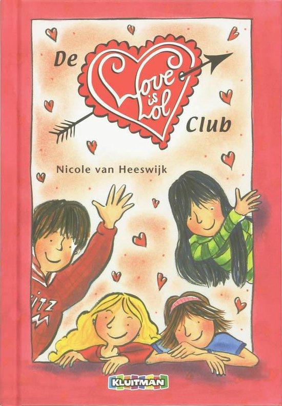 Cover van het boek 'De love is lol club' van Nicole van Heeswijk