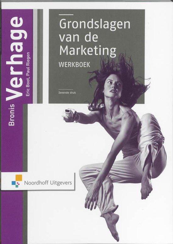 Grondslagen van de marketing / Werkboek - Bronis Verhagen pdf epub