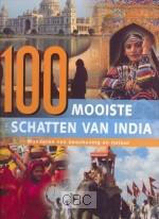Cover van het boek '100 Mooiste schatten van India' van N. Grover
