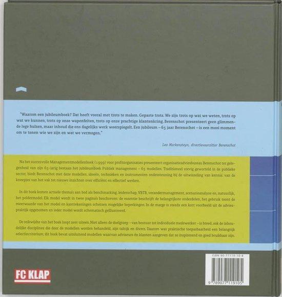 Publiek Management / 65 Modellen - Berenschot