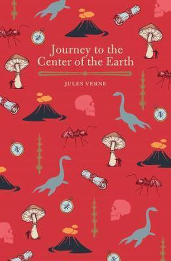 Boek cover Journey to the Center of the Earth van Jules Verne (Paperback)