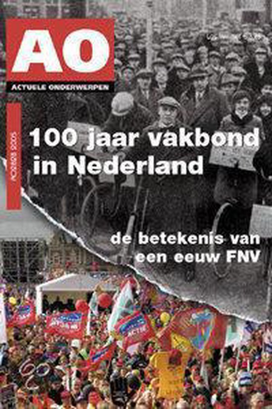 Cover van het boek '100 jaar vakbond in Nederland / druk 1' van L. de Waal