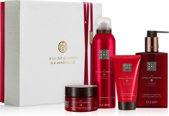 RITUALS The Ritual of Ayurveda geschenkset medium - cadeaupakket