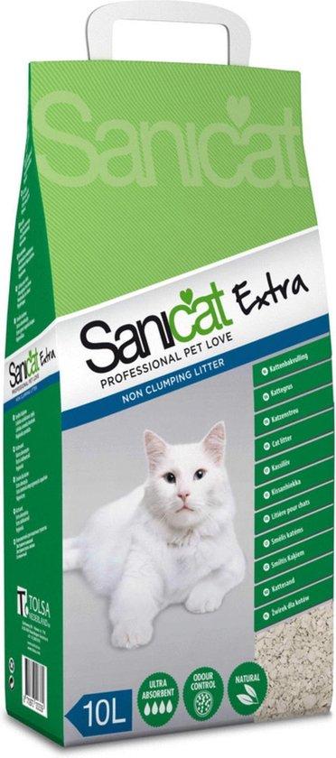 Sanicat - Extra Kattenbakvulling - 10 L
