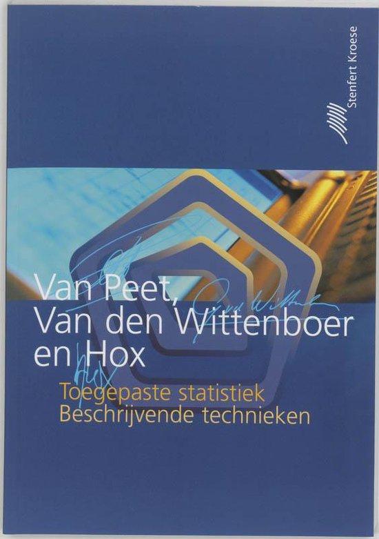 Toegepaste statistiek - beschrijvende technieken - A.A.J. van Peet pdf epub