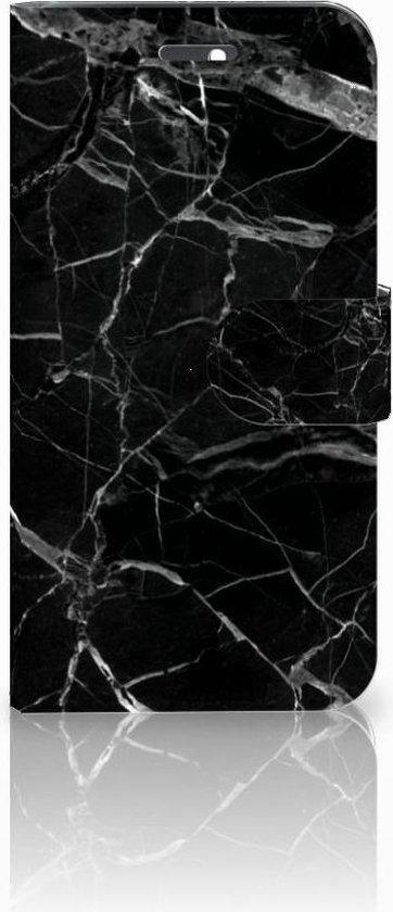 Huawei Honor 4A | Y6 Uniek Boekhoesje Marmer Zwart