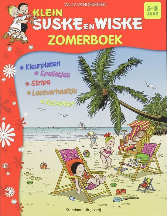 Klein Suske en Wiske Zomerboek - Willy Vandersteen |