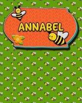 Handwriting Practice 120 Page Honey Bee Book Annabel