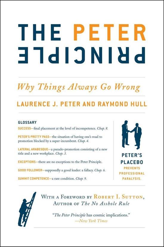 Boek cover The Peter Principle van Dr. Laurence J Peter (Onbekend)