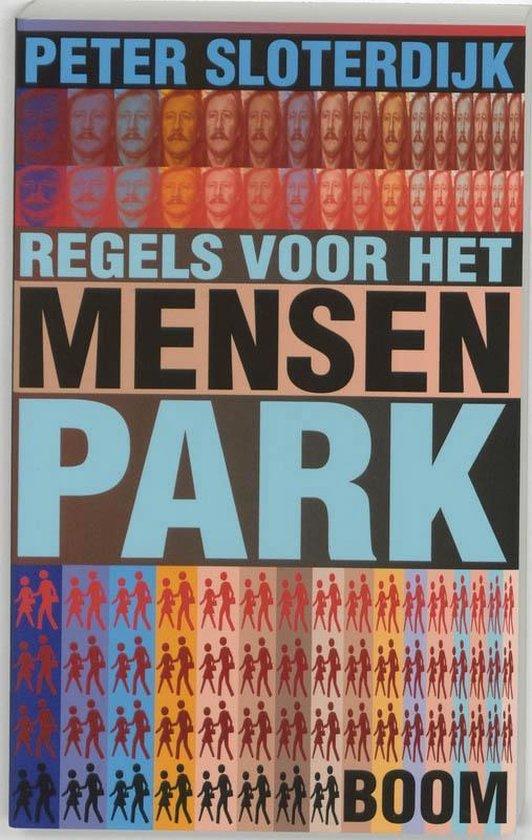 Boek cover Regels voor het mensenpark van P. Sloterdijk (Paperback)