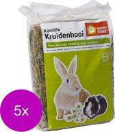 Happy Home Kruidenhooi 500 g - Ruwvoer - 5 x Kamille