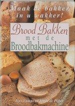 Boek cover Brood bakken met de broodbakmachine van I. Camps (Hardcover)