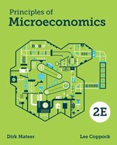 Boek cover Principles of Microeconomics van Dirk Mateer