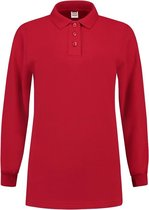 Tricorp Dames polosweater - Casual - 301007 - Rood - maat S