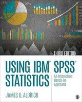 Boek cover Using IBM SPSS Statistics van James O. Aldrich (Paperback)