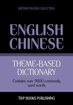 Theme-based dictionary British English-Chinese - 9000 words