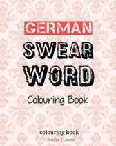 German Swear Word Colouring Book