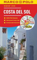 Costa Del Sol Marco Polo Holiday Map 2019 - pocket size, easy fold Costa del Sol map