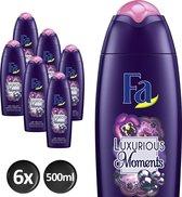Fa Bad Luxurious Moments Badschuim - 500 ml - 6 stuks - Voordeelverpakking
