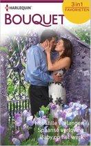 Het stille verlangen / Spaanse verloving / Baby op het werk - Bouquet Favorieten 435, 3-in-1