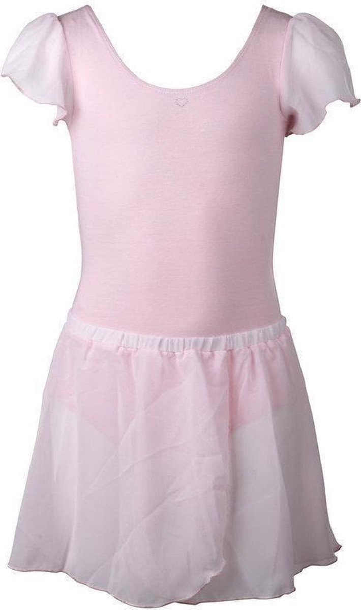 Papillon - Balletpak - Meisjes - Maat 104 - Rose - Papillon