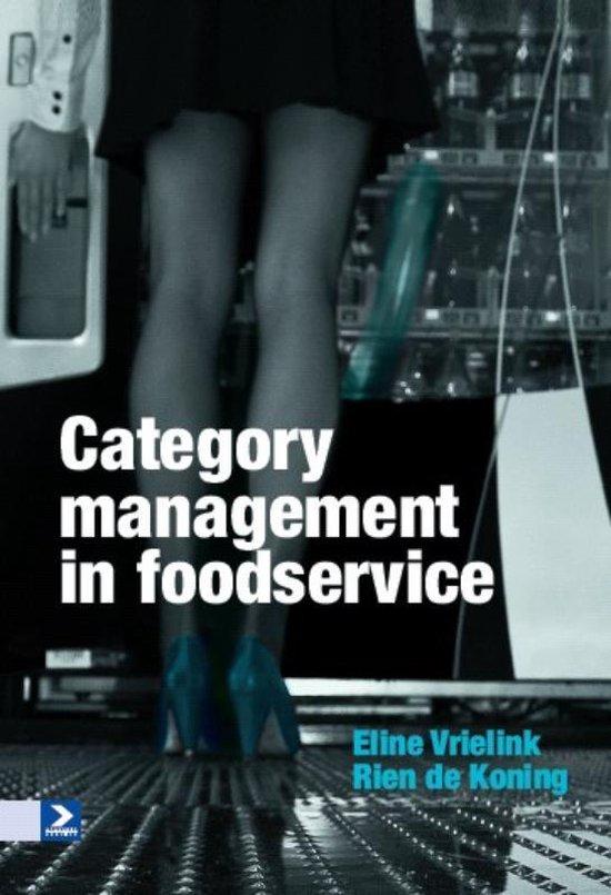 Cover van het boek 'Category management in foodservice'