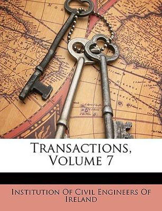 Transactions, Volume 7