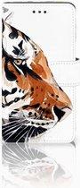 Nokia 7 Bookcase Hoesje Watercolor Tiger
