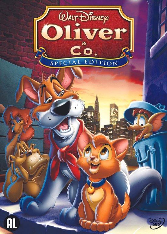 Cover van de film 'Oliver & Co'