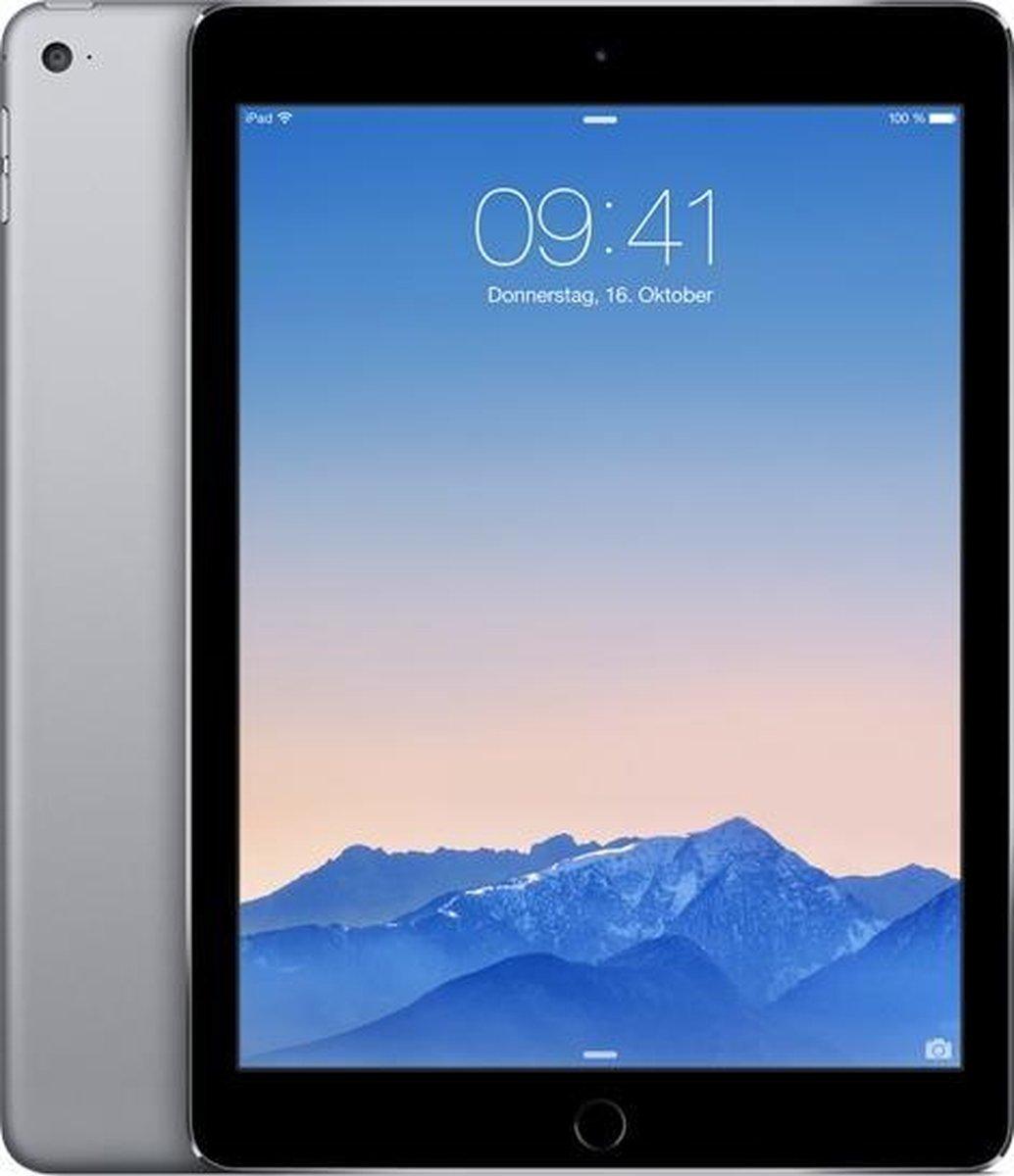 Apple iPad Air 2 refurbished door Forza - B-Grade (Lichte gebruikssporen) - 16GB - Cellular (4G) - Spacegrijs