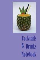Cocktails & Drinks Notebook
