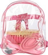 Harrys Horse Backpack Grooming Kit - Roze
